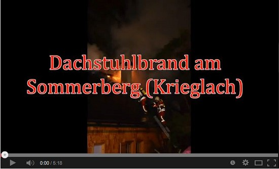 Video_Brandeinsatz am Sommerberg